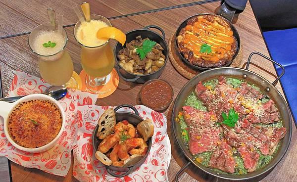 【桃園餐廳】Howfun好飯食堂-西班牙式的超大氣牛肉蓋飯