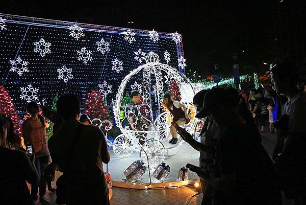 【板橋旅遊】2016新北市歡樂耶誕城-聖誕點燈活動