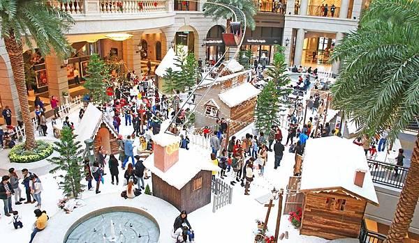 【台北旅遊】2016 BELLAVITA貴婦百貨聖誕節活動-冰天雪地的耶誕城