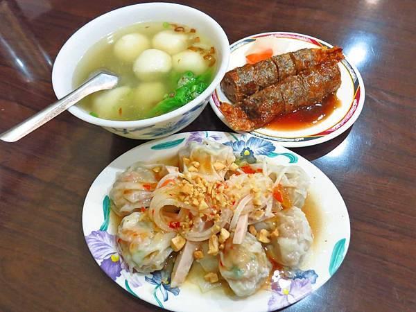 【台北美食】雙連鹹湯圓-許多人都推薦的湯圓店