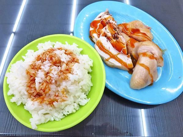 【三重美食】雞莊好吃雞肉-1碗10元便宜又好吃的雞油飯