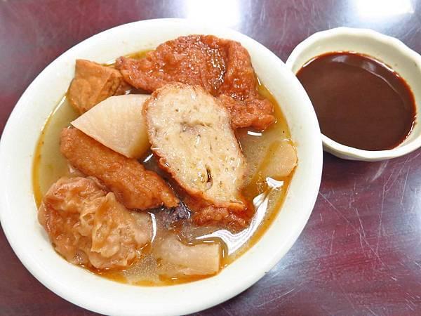 【萬華美食】亞東甜不辣-超級特殊的甜不辣沾醬