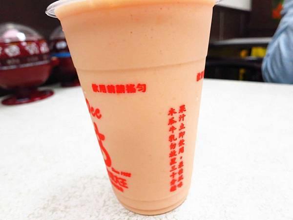 【彰化美食】彰化木瓜牛乳大王-濃郁到極點的木瓜牛奶