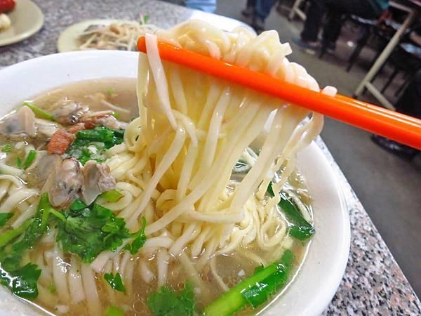 【彰化美食】阿添蛤仔麵-湯頭鮮美的蛤蜊湯麵