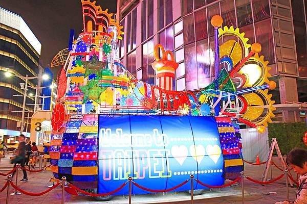 【2017台北燈會燈節】台北市北門、中華路一段、西門町熱鬧登場-附活動日期、時間、地點及活動詳細資訊