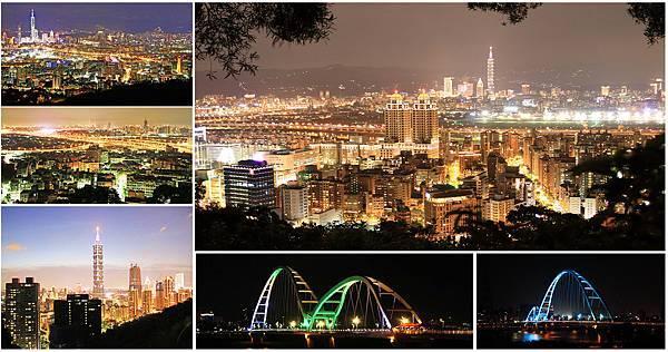 台北推薦必去夜景景點,情侶約會聖地-懶人包