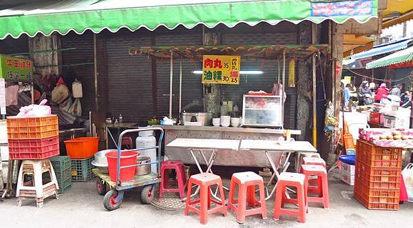 【三重美食】市場油粿肉圓-市場旁在地近50年的老店