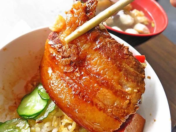 【萬華美食】一甲子餐飲-祖師廟焢肉飯、刈包-入口即化的焢肉飯
