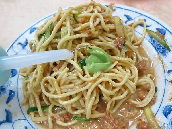 【台北美食】大吉林涼麵-份量超大的涼麵