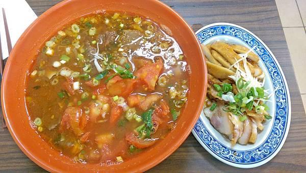 【新莊美食】珍珍小館-美味又順口的蕃茄牛肉麵