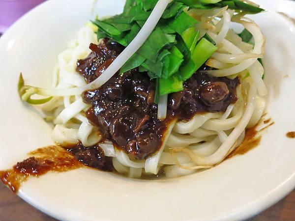 【台北美食】老程麵店-超越60年獨特的雙醬乾麵
