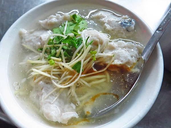 【台南美食】阿鳳浮水虱目魚羹-吃的到魚肉的虱目魚羹