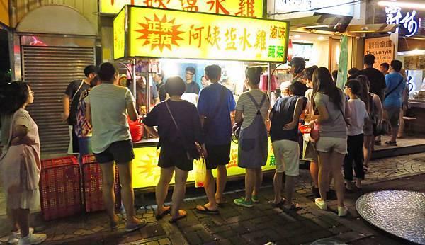 【台北美食】阿姨鹽水雞-士林夜市最受歡迎的鹽水雞
