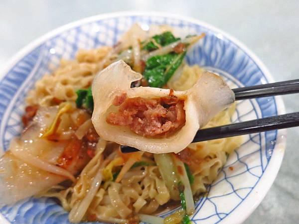 【台北美食】台南意麵之家-好吃又美味的水晶餃意麵