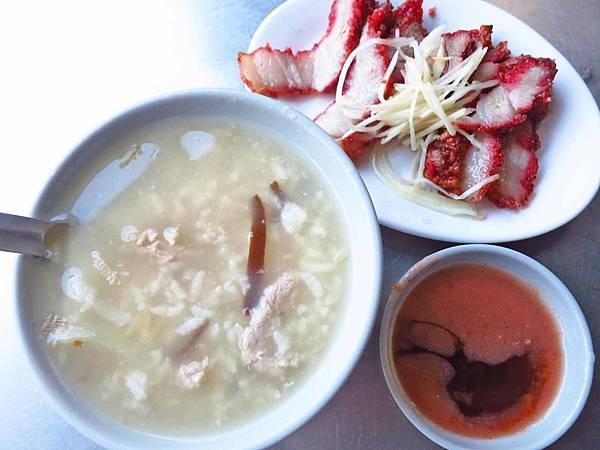 【台北美食】老攤肉粥-早上才會出現的路邊攤鹹粥