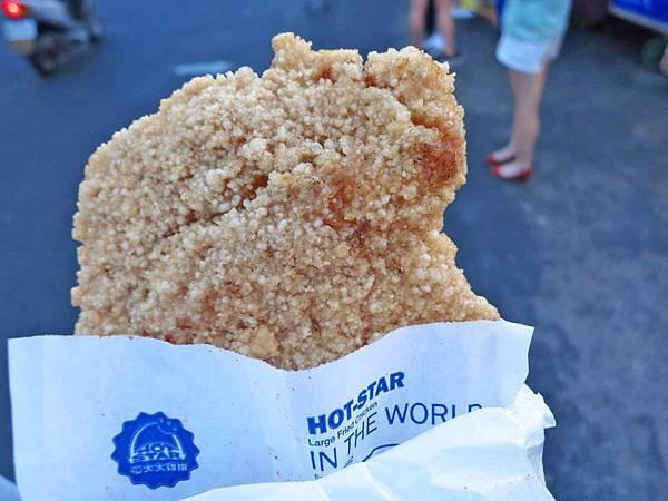 【台北美食】士林豪大大雞排-國外觀光客來這必吃超大SIZE雞排
