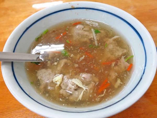 【桃園美食】台南人肉羹麵-好喝酸酸甜甜的肉羹湯