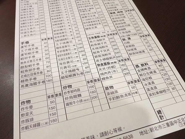 【三重美食】銀屋日式料理本舖-網路高評價的新鮮美味日式料理店
