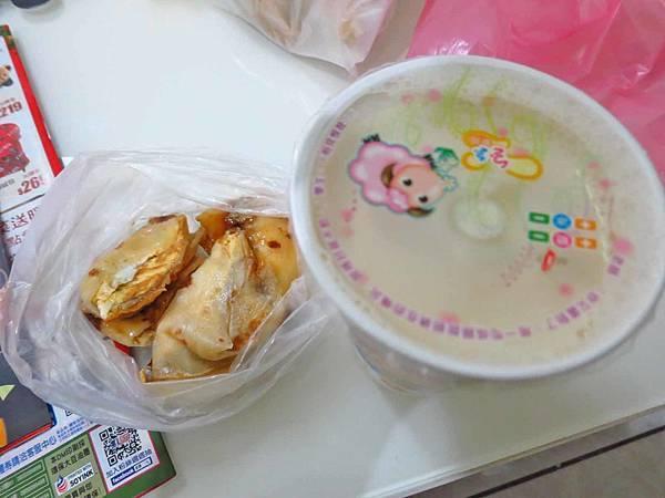 【蘆洲美食】正大永和豆漿-香濃美味的豆漿