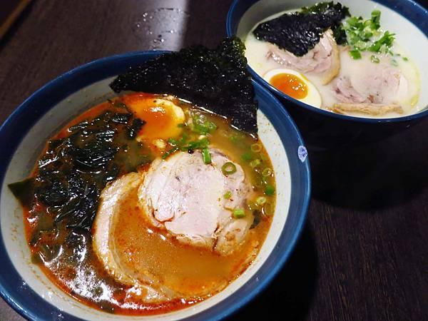 【台北美食】九湯屋日式拉麵-不用百元的日式豚骨拉麵