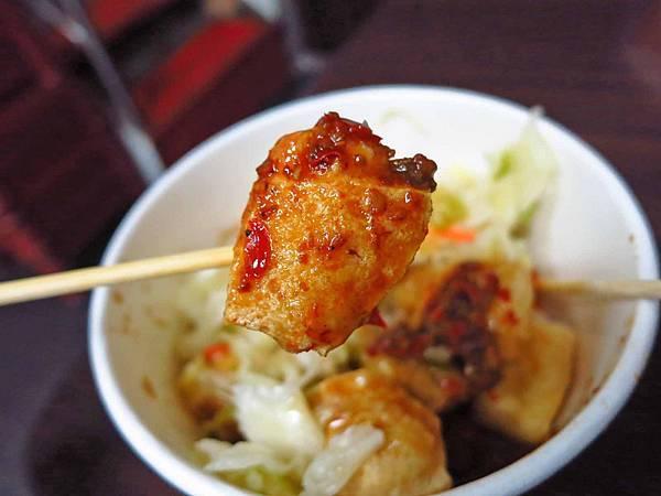 【台北美食】一口金酥臭豆腐-酥脆又美味的臭豆腐