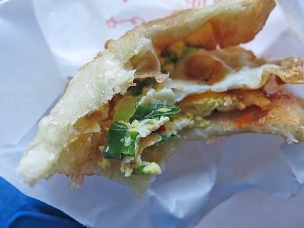 【蘆洲美食】柯氏二姐蔥油餅-宜蘭來的知名蔥油餅