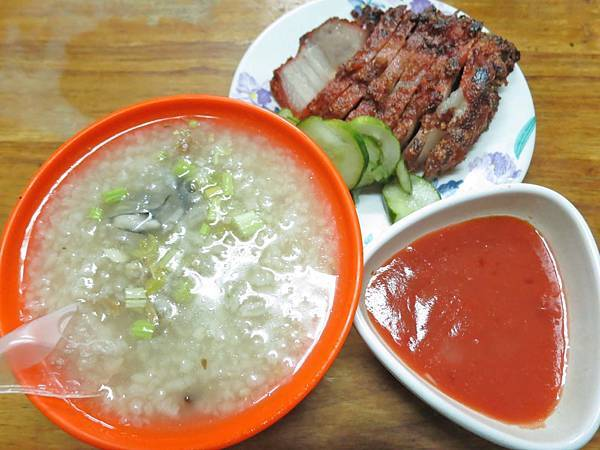 【台北美食】五十年香菇肉粥-便宜又美味的肉粥店
