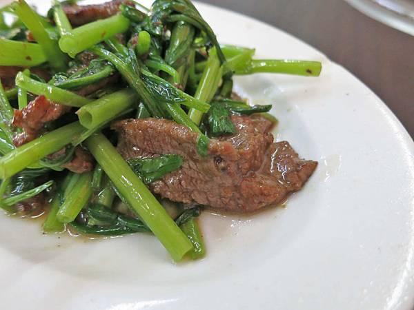 【台北美食】阿輝牛肉店-滿滿焦香味的美味炒牛肉