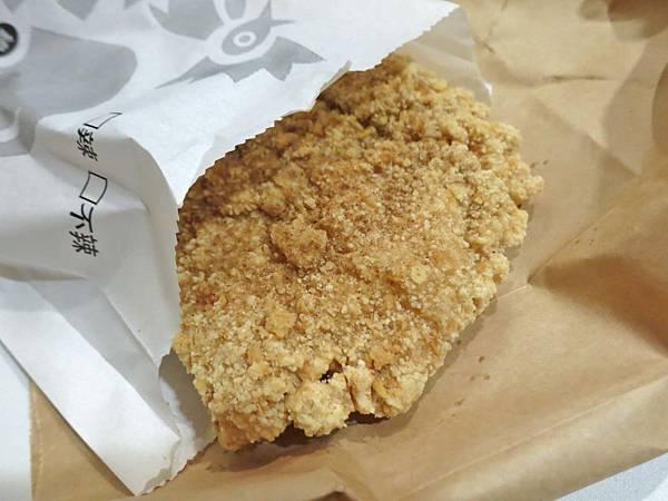 【蘆洲美食】緯大雞排-比一般還要大二分之一以上的超大雞排