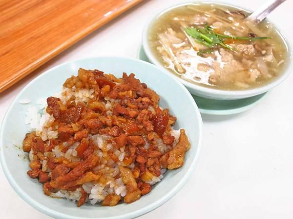 【台北美食】雙連街魯肉飯-超過40年老字號魯肉飯