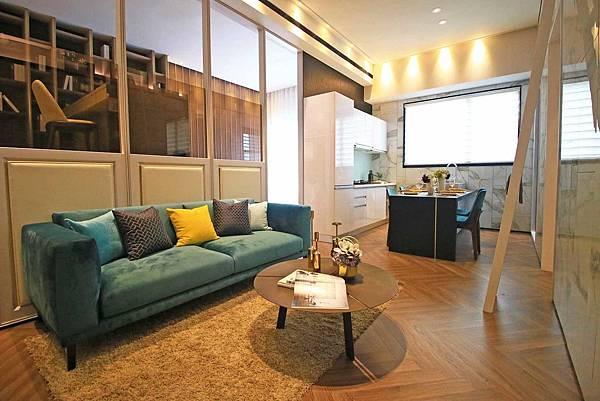 【蘆洲建案賞屋】城市知己III米蘭公寓-挑高3米6絕佳的建築工法與硬體設施