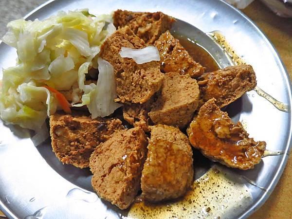 【台北美食】西安街涼麵臭豆腐-大份量又美味的低調美食