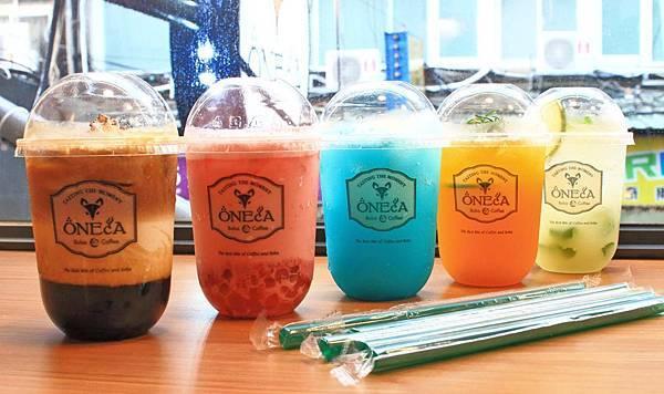 【台北美食】ONECA 丸咖-打卡聖地,少女心大噴發的文青飲料店