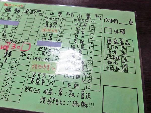 【三重美食】古早味台東米苔目-湯頭鮮甜美味的米苔目美食
