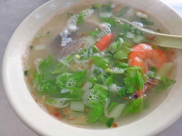 【五股美食】吳記海產粥-配料豐富的美味海產粥