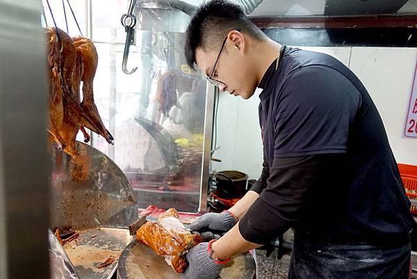 【桃園八德美食】邊境烤鴨-每日新鮮現烤限量烤鴨,晚來就吃不到!!