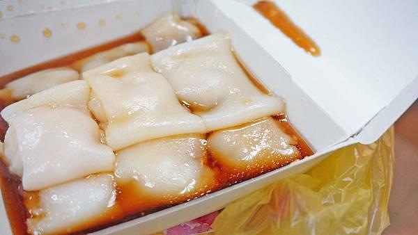 【台北美食】心心港式腸粉-夜市裡超人氣排隊美食