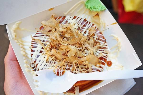 【台北美食】福島屋圓圓燒-饒河夜市裡大排長龍的必吃美食名店之一