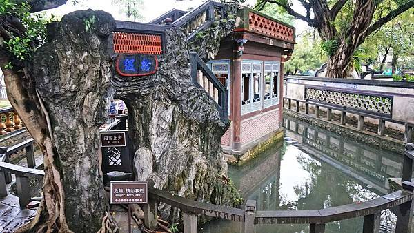 【台北景點】林家花園-古色古香的中國式花庭建築物古蹟