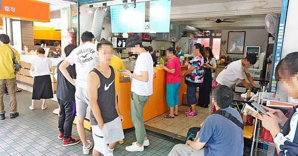 【台北美食】華國早餐店-無時無刻都大排長龍的超強排隊美食