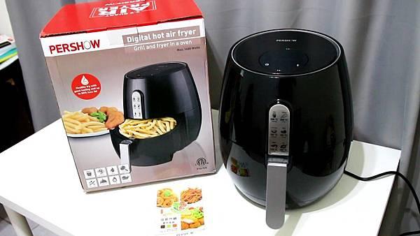 【開箱文】品夏氣炸鍋,網路評價CP值最高的氣炸鍋!真的還是假的?實測開箱