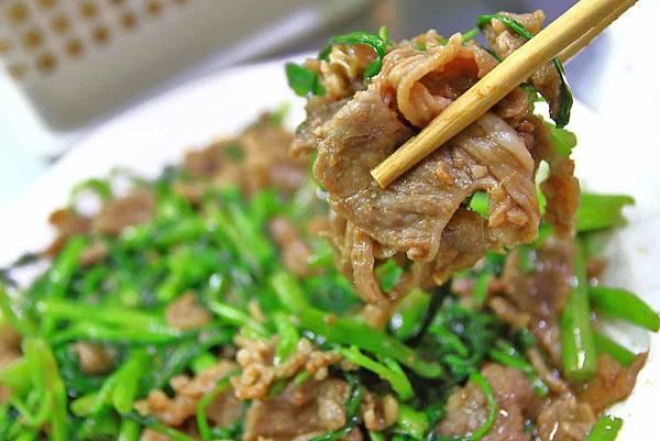 【桃園美食】大廟生炒羊肉-宵夜時間才會出現的爆美味路邊攤美食