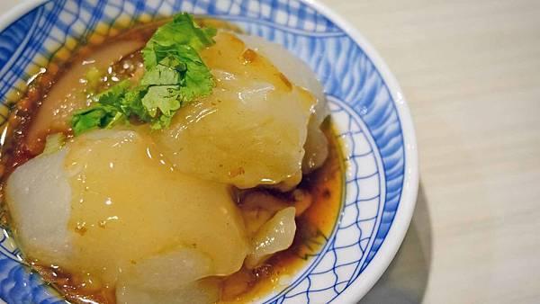 【台北美食】福珍園肉圓-美味清爽不油膩的清蒸肉圓