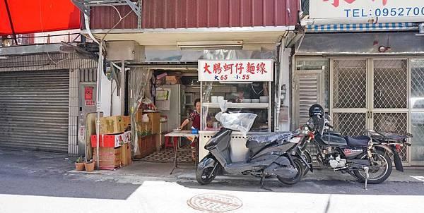 【台北美食】大龍峒阿嬤麵線店-隱藏在巷弄裡低調不為人知的爆美味蚵仔麵線