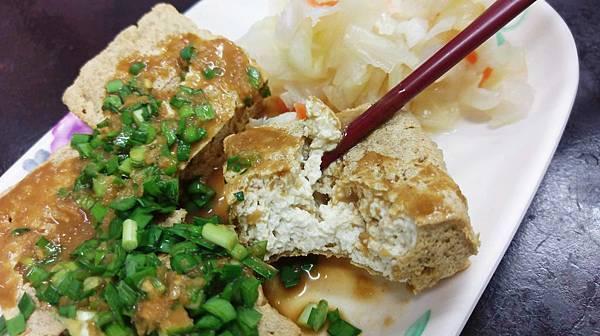【花蓮美食】荳蘭橋臭豆腐-電視媒體也推薦的韭菜臭豆腐
