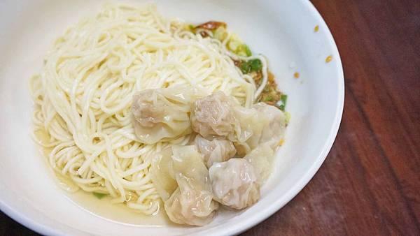 【台北美食】一軒珍珠餛飩-味道又迷人的餛飩乾麵