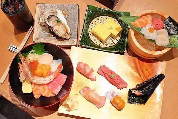 【沖繩美食】築地男前鮓国際通り屋台村-築地新鮮食材直送!呈現最美味的海鮮生魚片美食
