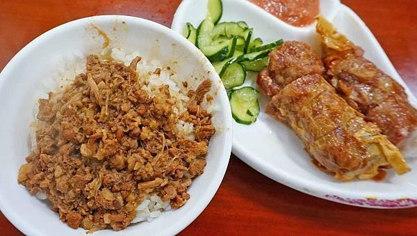 【台北美食】龍緣魯肉飯-超過60年老字號圓環魯肉飯