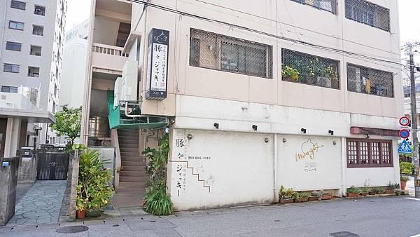 【沖繩美食】Tonton Jacky-隱身在不起眼巷弄裡2樓美味阿古豬炸豬排料理