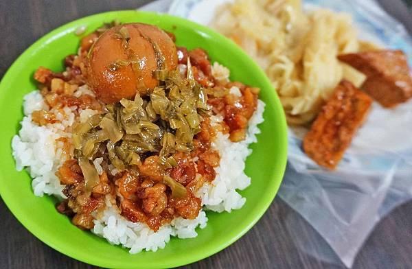【三重美食】原頂好魯肉飯羊肉羹湯-隱身在狹小巷弄裡內行人才知道的銅板美食
